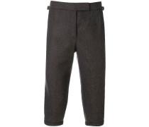 mid-calf length trousers