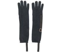 Handschuhe mit Perlen