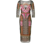 Maze midi dress