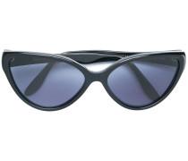 Cat-Eye-Sonnenbrille mit blauen Gläsern