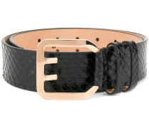 Icon buckle belt