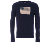 U.S.A crew neck sweater