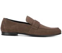 Loafer mit Intrecciato-Flechtmuster