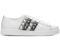 glitter stripe sneakers