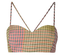 Bralet im Patchwork-Look