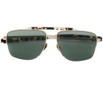 Pilotenbrille mit Schildpattdetails