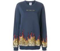 hot for you sequinned sweatshirt