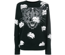 'Flower Puma' Sweatshirt