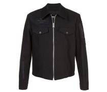 Verzierte Jacke mit Reißverschluss