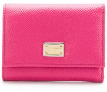 Portemonnaie aus Dauphine-Leder