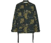 x Browns Jacke mit floralem Print
