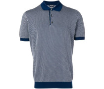 Poloshirt mit geometrischem Muster