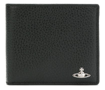 billfold logo plaque wallet
