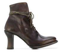 elongated lace boots