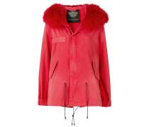 short parka coat