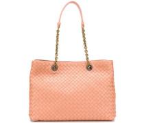 Mittelgroße Intrecciato-Handtasche