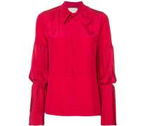 Bluse mit plissierten Details