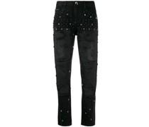 Verzierte 'Boyfriend Stars' Jeans