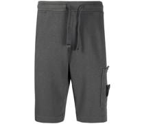 Jersey-Shorts mit Logo-Stickerei
