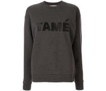 'Tame' Sweatshirt im Boyfriend-Look