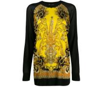 Pullover mit barockem Print