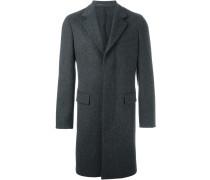 Mantel mit einreihigem Design
