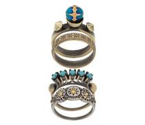 'Indiana' Set aus vier Ringen