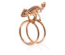 18k rose gold Baby Chameleon ring