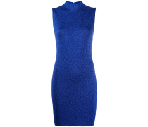 glittered sleeveless short dress