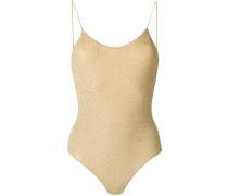 metallic thread swimsuir