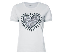 X Keith Haring embellished T-shirt - Unavailable