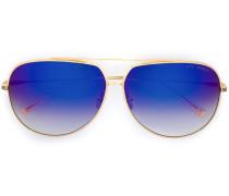 Pilotenbrille aus 18kt Gold