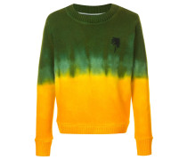 dyed palm tree jumper