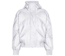 Fluoro Metallic Puffer Jacket