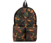 Rucksack mit Camouflage-Print