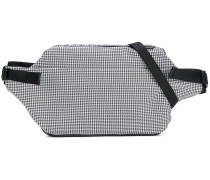 puppytooth check crossbody bag