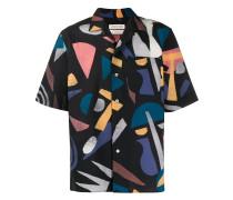 Hemd mit geometrischem Print