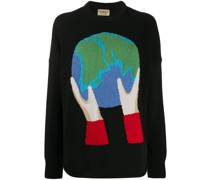 Recycelter 'Globe' Pullover