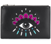 front logo clutch bag