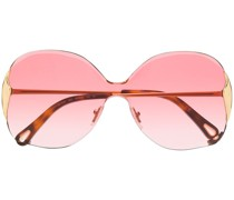 'Curtis' Oversized-Sonnenbrille