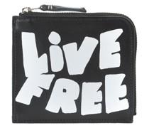 Kleines 'Live Free' Münztäschchen