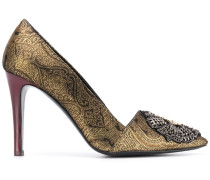 Pumps mit Jacquard-Optik