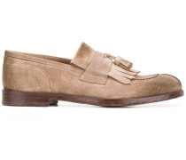 fringed tassel loafers