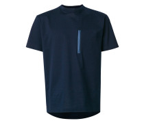 piped chest pocket T-shirt