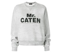 "Sweatshirt mit ""Mr. Caten""-Print"