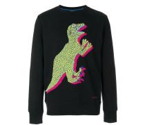 Pullover mit Dinosaurier-Print