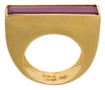 Ruby Baguette ring