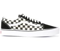 Karierte 'Old Skool' Canvas-Sneakers