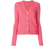 cashmere bird button cardigan