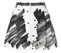 high-waist printed shorts